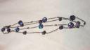 purple stone necklaces
