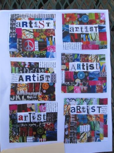 Fingal--Artist paper