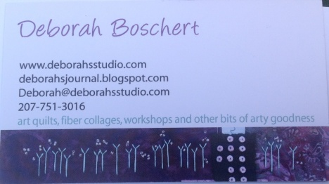 Deborah's business card