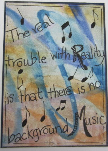 Reality and Music