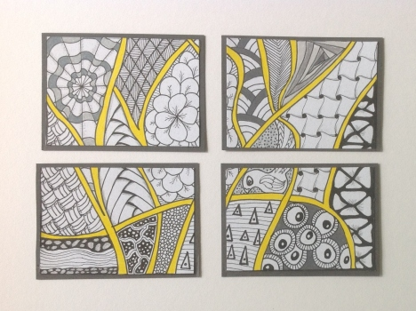 Study in Grey & Yellow Series