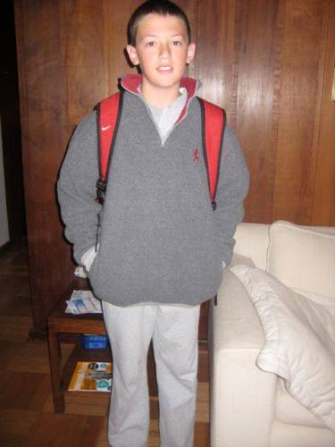 Z goes to school in Vina