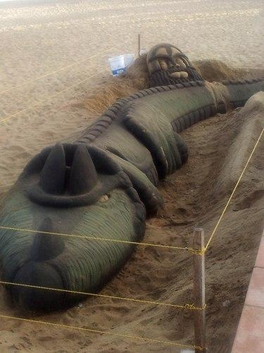 Sand art Vina